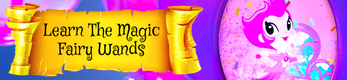 Learn the magic! Magical Fairy Wands