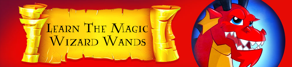 Learn the Magic! Magical Wizard Wands
